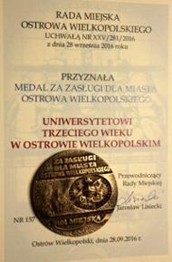 Medal za zasługi dla miasta