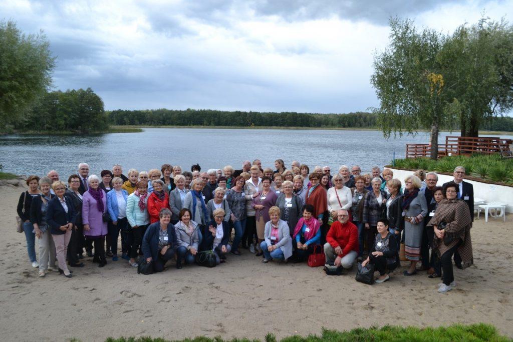 Uczestnicy spotkania wielkopolskich- UTW