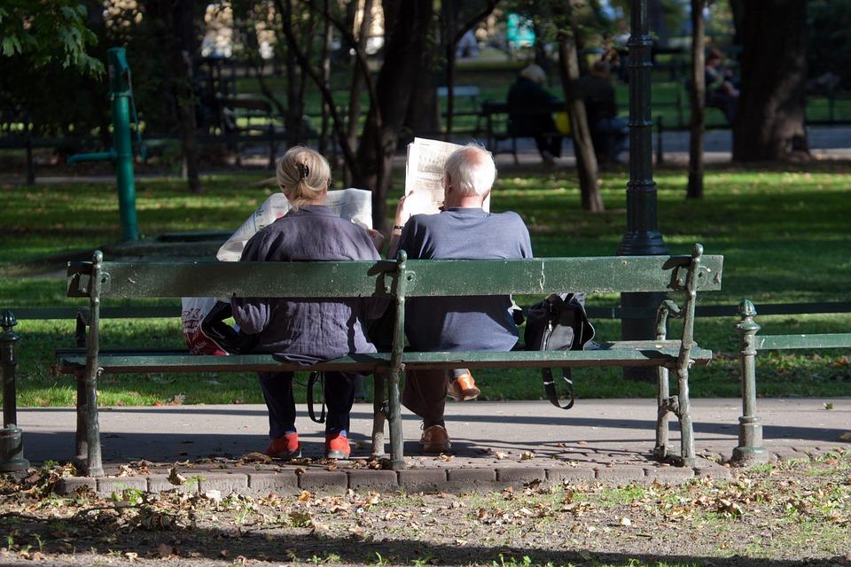 Para na ławce
